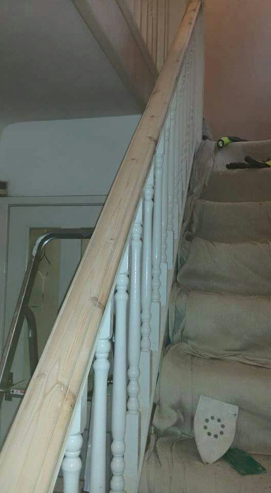 Staircase Restoration Job | Ron Watt Quality Painting & Decorating